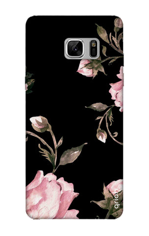 Pink Roses On Black Samsung Note 8 Cases & Covers Online