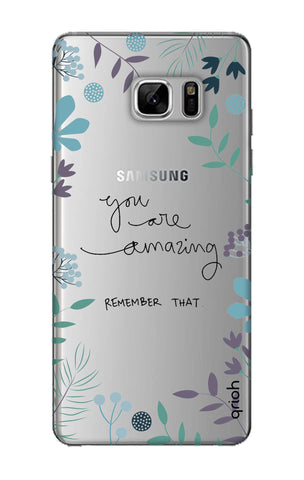 You're Amazing Samsung Note 8 Cases & Covers Online