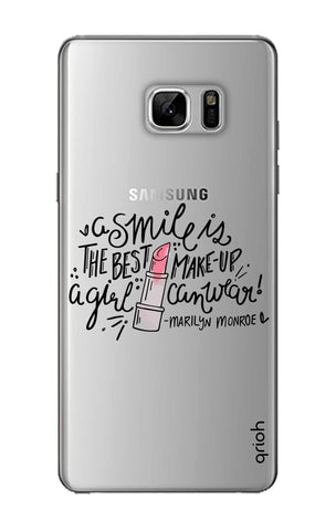 Make Up Smile Samsung Note 8 Cases & Covers Online