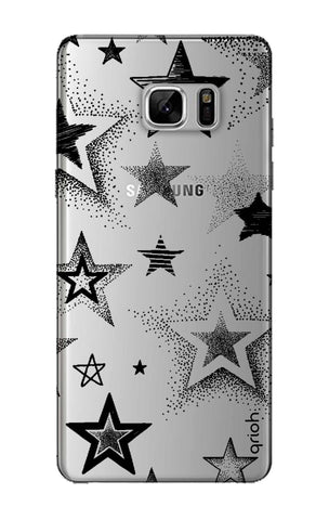 Black Stars Samsung Note 8 Cases & Covers Online