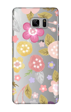 Multi Coloured Bling Floral Samsung Note 8 Cases & Covers Online