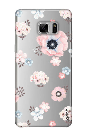 Beautiful White Floral Samsung Note 8 Cases & Covers Online