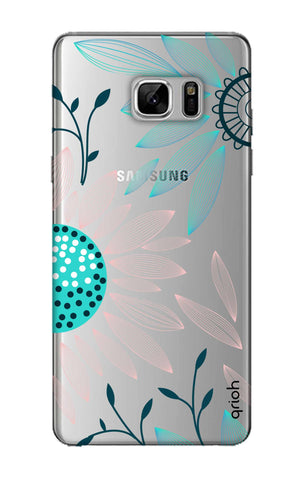 Pink And Blue Petals Samsung Note 8 Cases & Covers Online