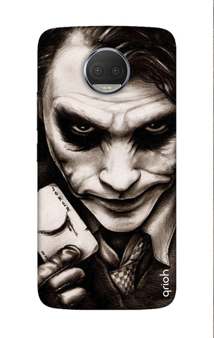 Why So Serious Motorola Moto G5S Cases & Covers Online