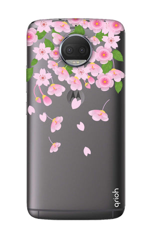 Pretty Pink Floral Motorola Moto G5S Cases & Covers Online