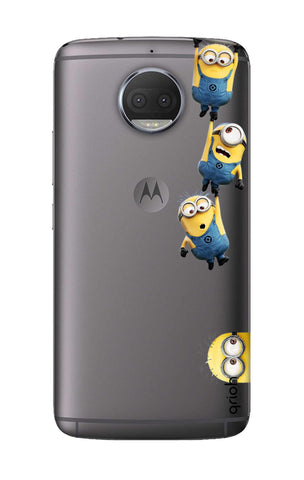 the latest 96619 486f2 Falling Minions Case for Motorola Moto G5S