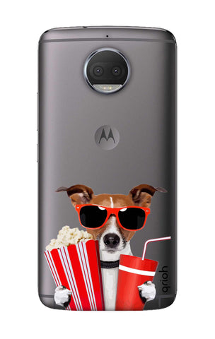 Dog Watching 3D Movie Motorola Moto G5S Cases & Covers Online