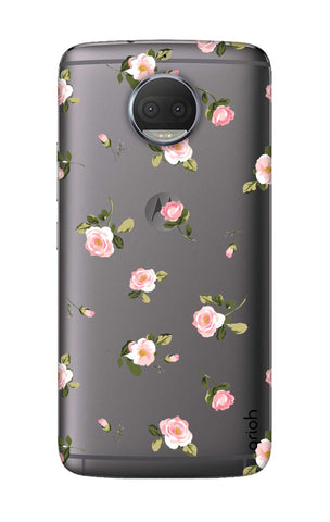 Pink Rose All Over Motorola Moto G5S Cases & Covers Online
