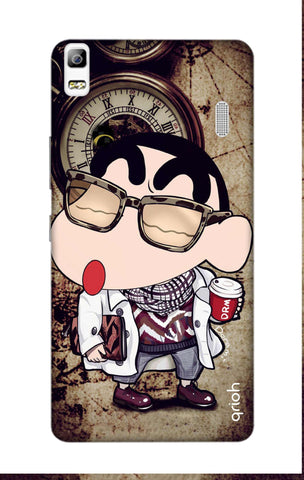 Nerdy Shinchan Lenovo A7000 Cases & Covers Online