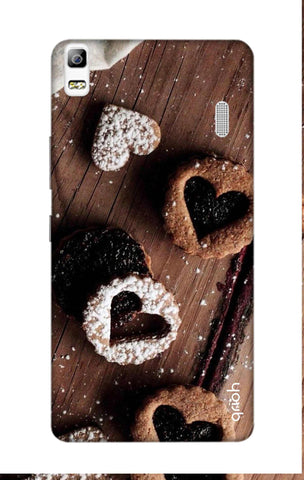 Heart Cookies Lenovo A7000 Cases & Covers Online