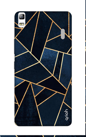 Abstract Navy Lenovo A7000 Cases & Covers Online
