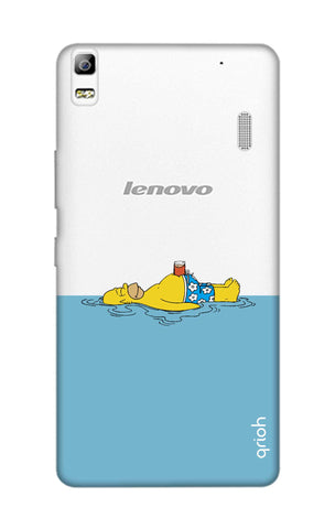 Simpson Chill Lenovo A7000 Cases & Covers Online
