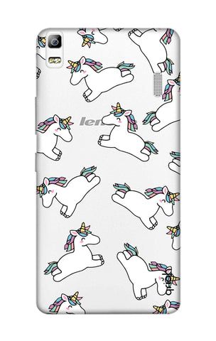 Jumping Unicorns Lenovo A7000 Cases & Covers Online