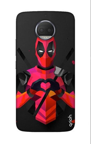 Valentine Deadpool Motorola Moto G5S Plus Cases & Covers Online