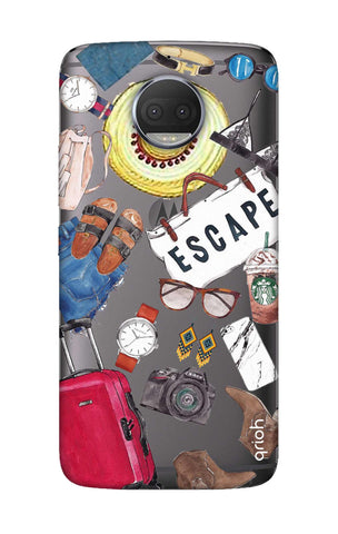 Travel Doodle Motorola Moto G5S Plus Cases & Covers Online