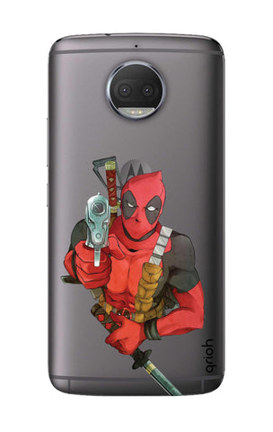Deadpool Warrier Motorola Moto G5S Plus Cases & Covers Online