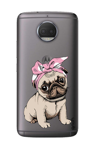 Pink Puggy Motorola Moto G5S Plus Cases & Covers Online