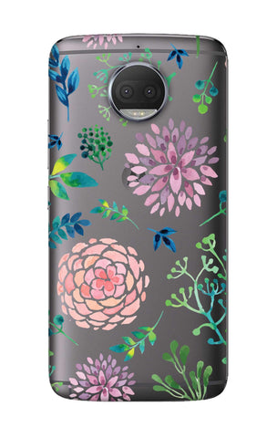 Lillies, Orchids And Leaves Motorola Moto G5S Plus Cases & Covers Online