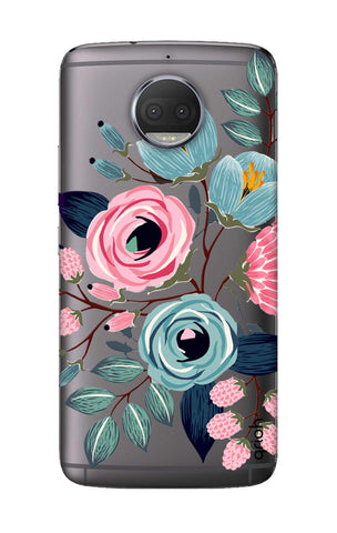 Pink And Blue Floral Motorola Moto G5S Plus Cases & Covers Online