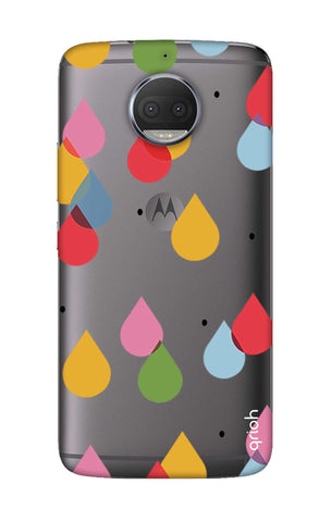 Colourful Drops Motorola Moto G5S Plus Cases & Covers Online