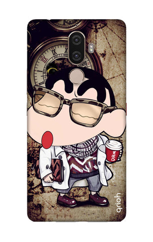 Nerdy Shinchan Lenovo K8 Note Cases & Covers Online