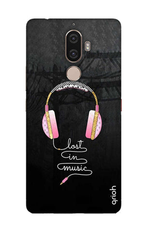 Lost In Music Lenovo K8 Note Cases & Covers Online