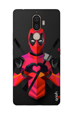 Valentine Deadpool Lenovo K8 Note Cases & Covers Online