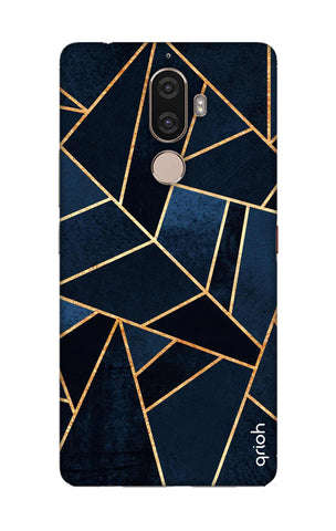 Abstract Navy Lenovo K8 Note Cases & Covers Online
