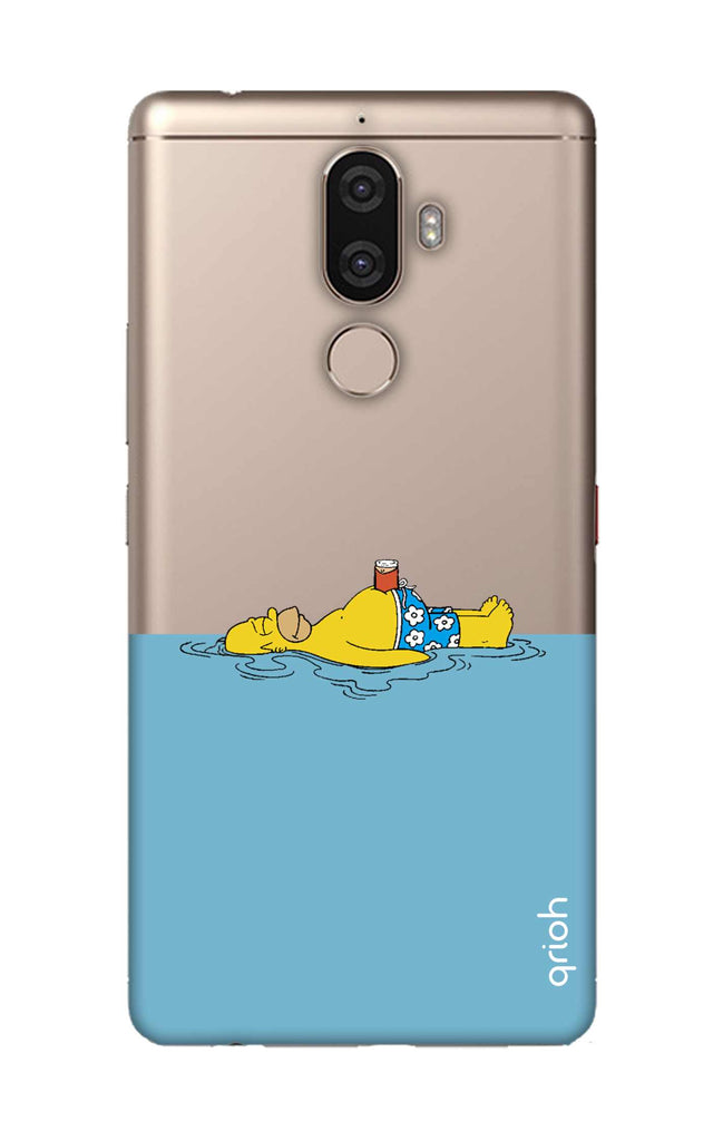 uk availability 4d8ec 114ee Simpson Chill Case for Lenovo K8 Note