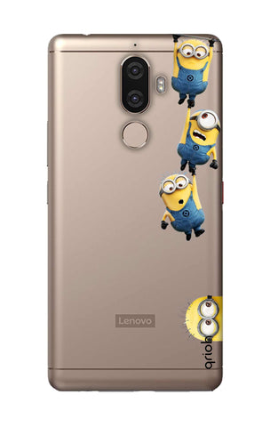 Falling Minions Lenovo K8 Note Cases & Covers Online