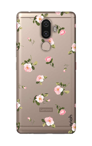 Pink Rose All Over Lenovo K8 Note Cases & Covers Online