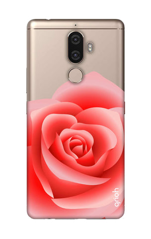 Peach Rose Lenovo K8 Note Cases & Covers Online