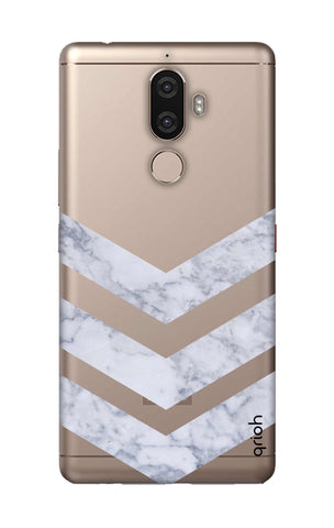 Marble Chevron Lenovo K8 Note Cases & Covers Online