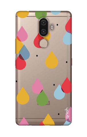 Colourful Drops Lenovo K8 Note Cases & Covers Online