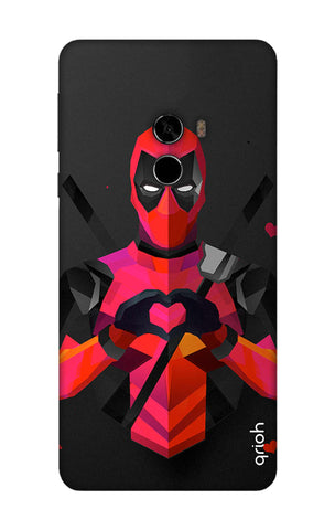 Valentine Deadpool Xioami Mi Mix 2 Cases & Covers Online