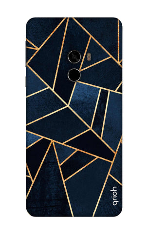 Abstract Navy Xioami Mi Mix 2 Cases & Covers Online