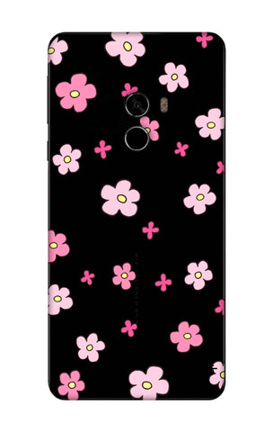 Pink Flowers All Over Xioami Mi Mix 2 Cases & Covers Online