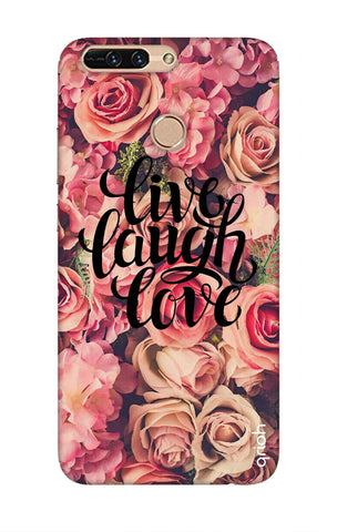 Floral Live, Laugh, Love Honor 8 pro Cases & Covers Online