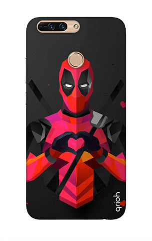 Valentine Deadpool Honor 8 pro Cases & Covers Online