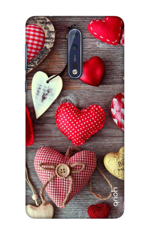 Be Mine Nokia 8 Cases & Covers Online