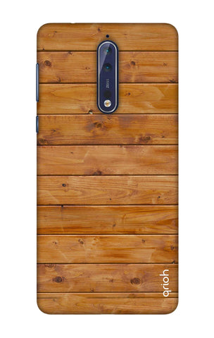 Natural Wood Nokia 8 Cases & Covers Online