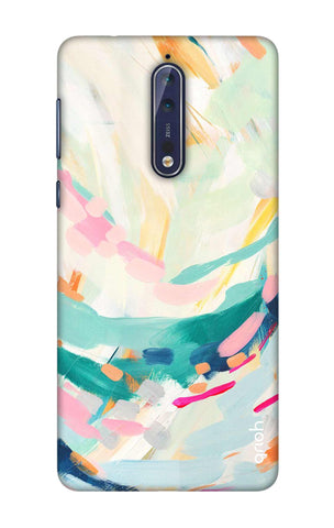 Colorful Pattern Nokia 8 Cases & Covers Online
