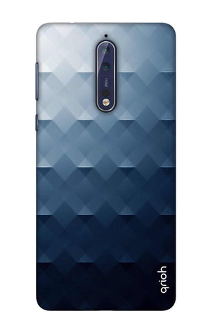 Midnight Blues Nokia 8 Cases & Covers Online