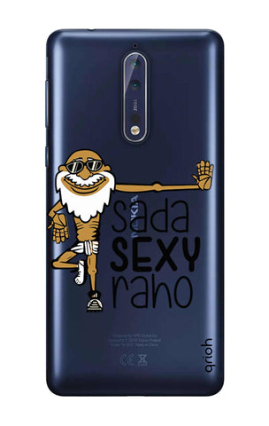 Sada Sexy Raho Nokia 8 Cases & Covers Online