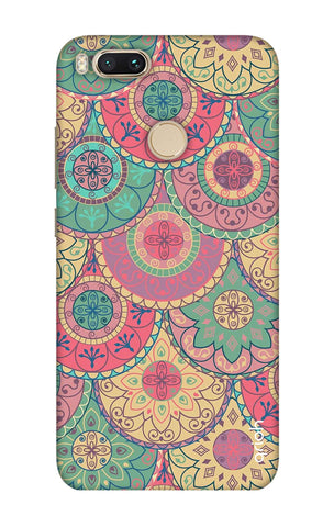 Colorful Mandala Xiaomi Mi A1  Cases & Covers Online