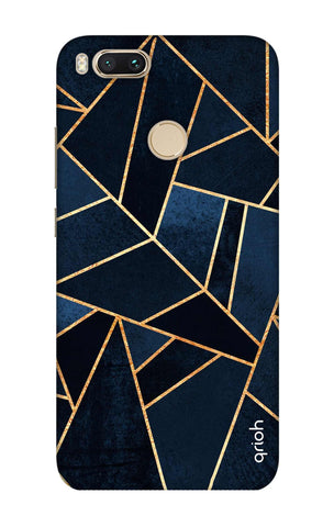 Abstract Navy Xiaomi Mi A1  Cases & Covers Online