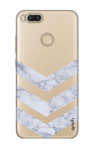 Marble Chevron Xiaomi Mi A1  Cases & Covers Online