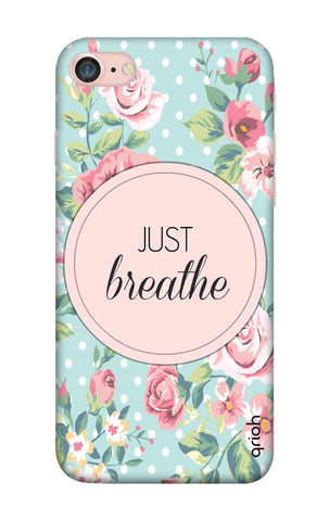 Vintage Just Breathe iPhone 8 Cases & Covers Online