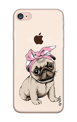 Pink Puggy iPhone 8 Cases & Covers Online