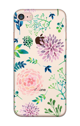 Lillies, Orchids And Leaves iPhone 8 Cases & Covers Online